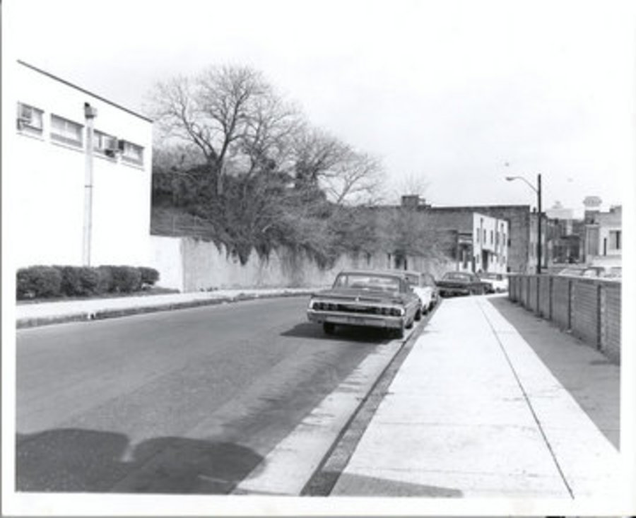 65Mulberry Street, Fire Station and Rooming House on Left and Lorraine Motel on Right.jpg