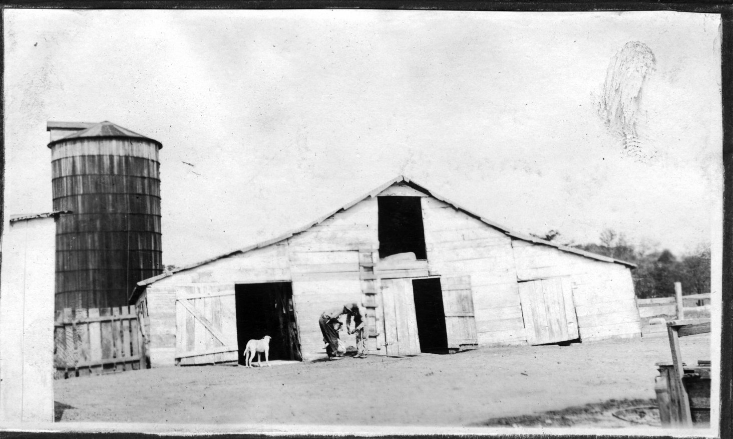 012~W. L. Pinkston Rebuilt Barn Apr 1921.jpg